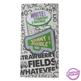 White Strawberry and Merengue Johnny Doodle Chocolade