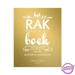 Het RAK Boek Elise de Rijck FairtradeUpgrade
