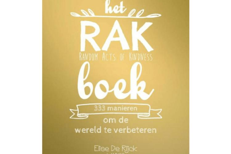 Het RAK Boek Elise de Rijck