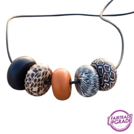 Ketting Rondelle Wild Thing Contrast