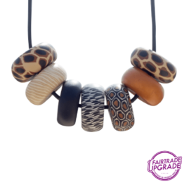 Ketting Rondelle Wild-Thing Contrast