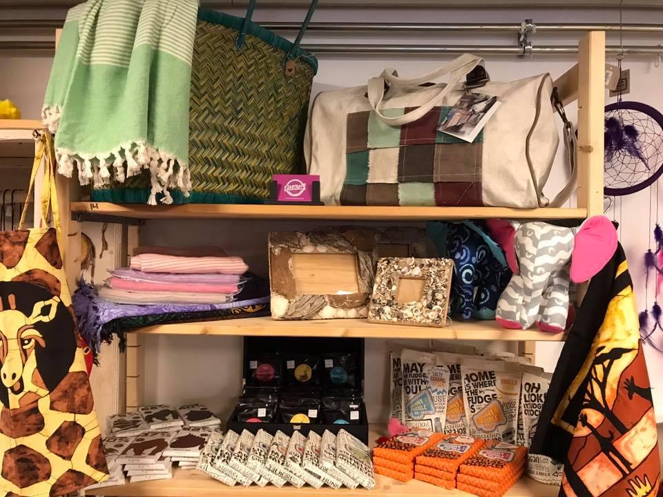 FairtradeUpgrade in shop in shop kamperland