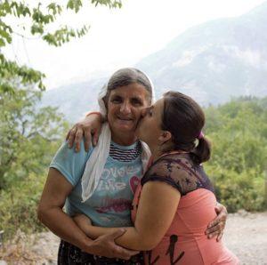 Sterke Albanese vrouwen
