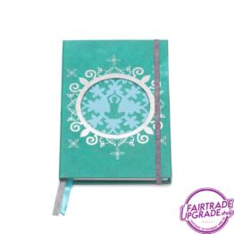 Notitieboek foto groen zilver FairtradeUpgrade