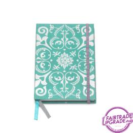 Notitieboek groen zilver FairtradeUpgrade