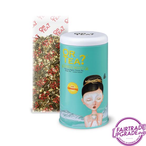 Blik losse thee Ginseng Beauty FairtradeUpgrade