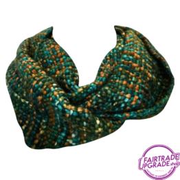 sjaal col Groen FairtradeUpgrade