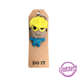 Grappige Fairtrade Sleutelhanger Do it FairtradeUpgrade