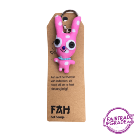 Grappige Fairtrade Sleutelhanger Fah FairtradeUpgrade