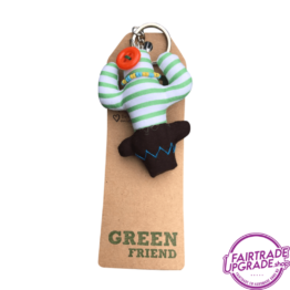 Fairtrade Sleutelhanger Green Friend 1 FairtradeUpgrade