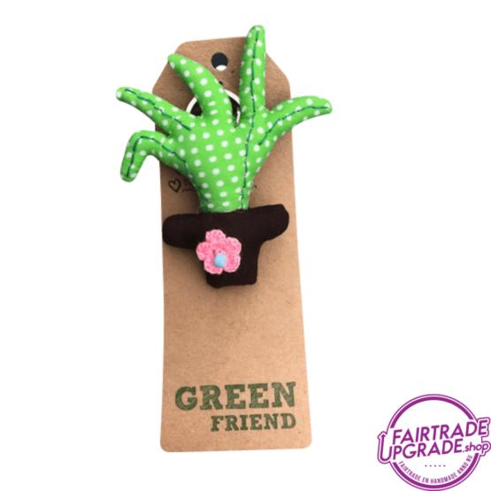 Fairtrade Sleutelhanger Green Friend 3 FairtradeUpgrade