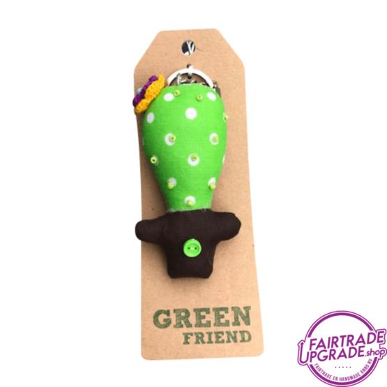 Fairtrade Sleutelhanger Green Friend 4 FairtradeUpgrade