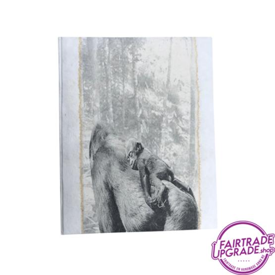 Notitieboek Ecru Moeder Gorilla FairtradeUpgrade