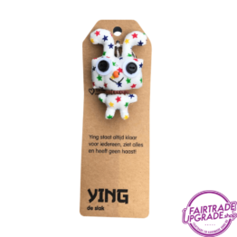 Grappige Fairtrade Sleutelhanger Ying FairtradeUpgrade