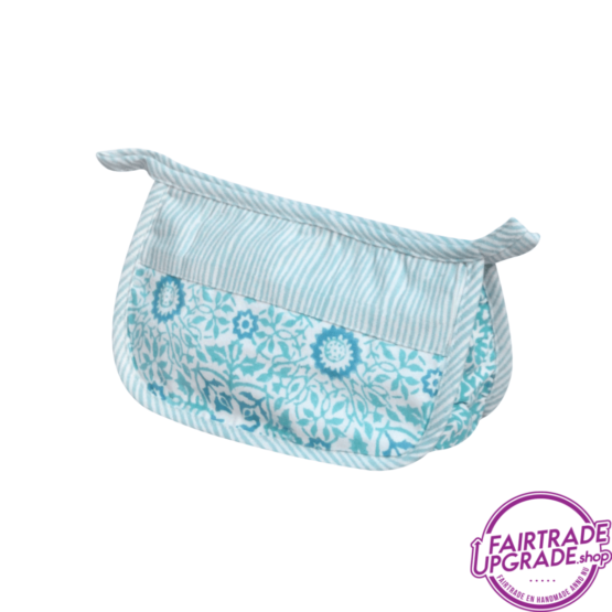 Make-up tasje of etui Forest Bleu FairtradeUpgrade