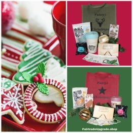 Goody Bag Kerstverwenpakket Groen of Rood FairtradeUpgrade