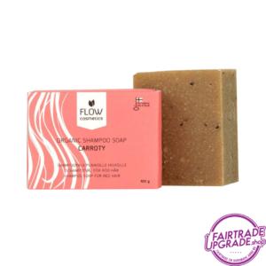 Carroty Shampoo Zeepblok FairtradeUpgrade