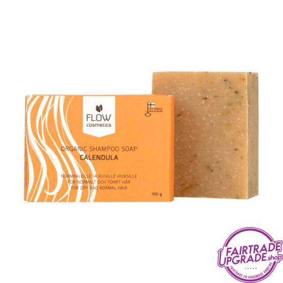 Calendula Shampoo Zeepblok FairtradeUpgrade