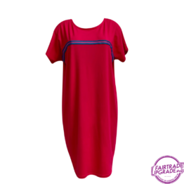T Dress basic pink FairtradeUpgrade