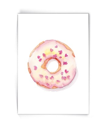 Kaart donut with hearts - Made by Marcelle bij FairtradeUpgrade