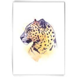 Kaart Leopard Made bij Marcelle bij FairtradeUpgrade