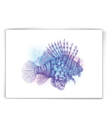 Kaart Lion Fish by Made by Marcelle bij FairtradeUpgrade