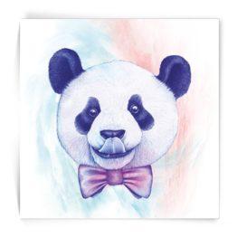 Kaart vierkant Panda Made by Marcelle bij FairtradeUpgrade