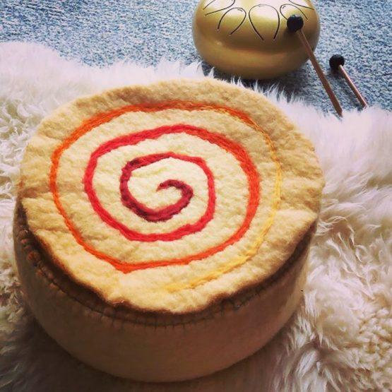 Zen in Wol meditatie poef bij FairtradeUpgrade