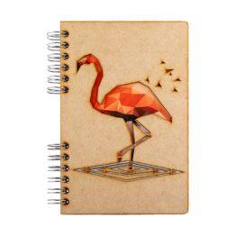 Notitieboek Flamingo Komoni bij FairtradeUpgrade