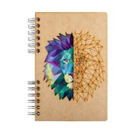 Notitieboek Leeuw Komoni bij FairtradeUpgrade
