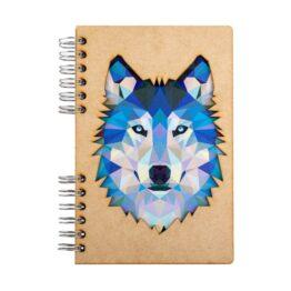 Notitieboek Wolf Komoni bij FairtradeUpgrade