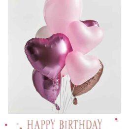 EcoCard Happy Birthday Harten