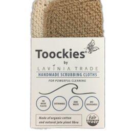 Toockies Duo Keuken Schuur- en Vaatdoekje bij FairtradeUpgrade