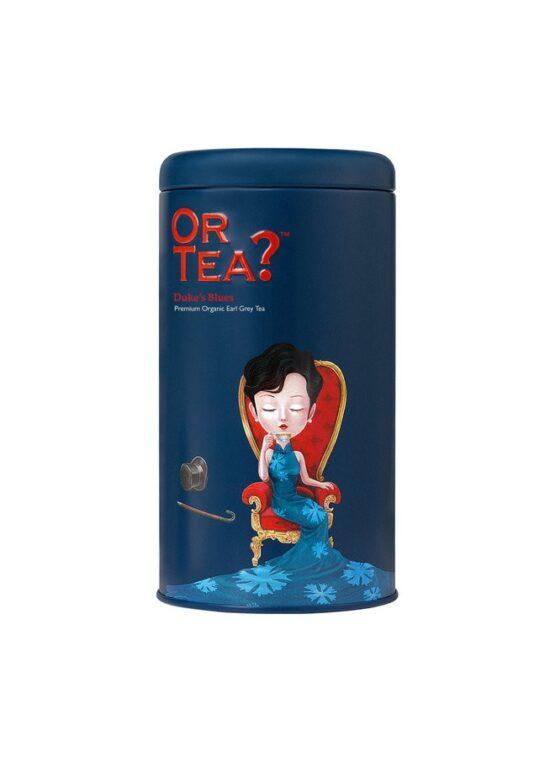Blik losse thee Duke's Blue bij FairtradeUpgrade