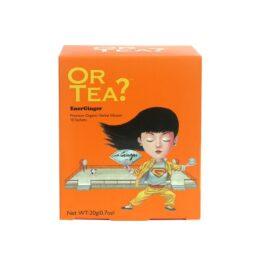 Doosje 10 theezakjes EnerGinger bij FairtradeUpgrade