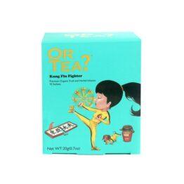 Doosje 10 theezakjes Kung Flu Fighter bij FairtradeUpgrade