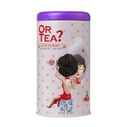 Blik losse thee La Vie en Rose bij FairtradeUpgrade